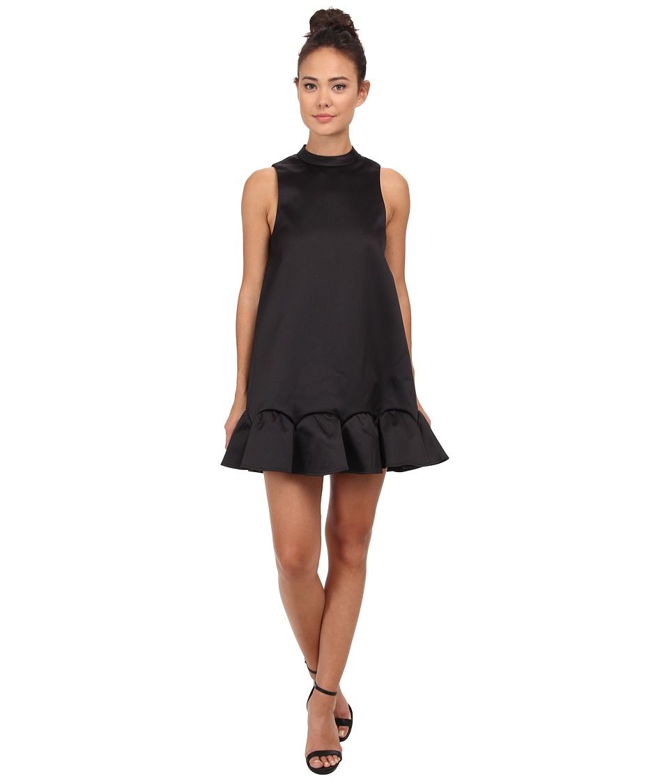 Rachel Zoe - Clamencia Sleeveless A-Line Dress (Black) Women's Dress