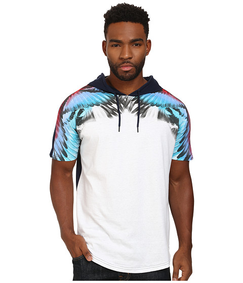 Staple - Paradiso Hooded Tee (White) Men