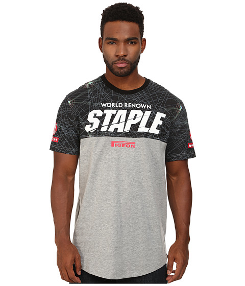 Staple - Overdrive Tee (Heather) Men's T Shirt