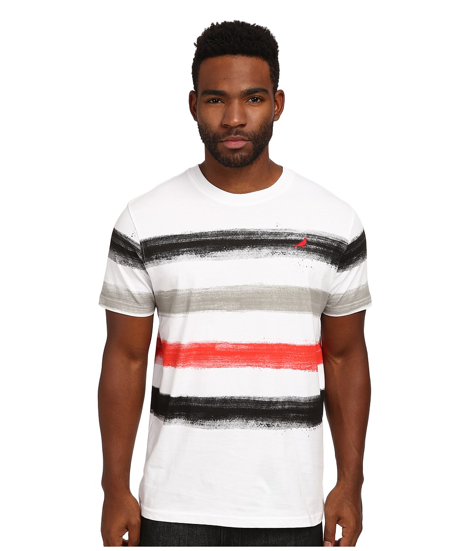 Staple - Paint Stripe Tee (Black) Men's T Shirt