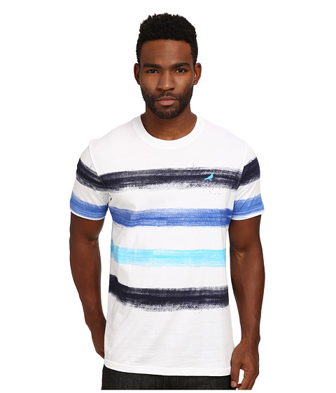 Staple - Paint Stripe Tee (Navy) Men's T Shirt