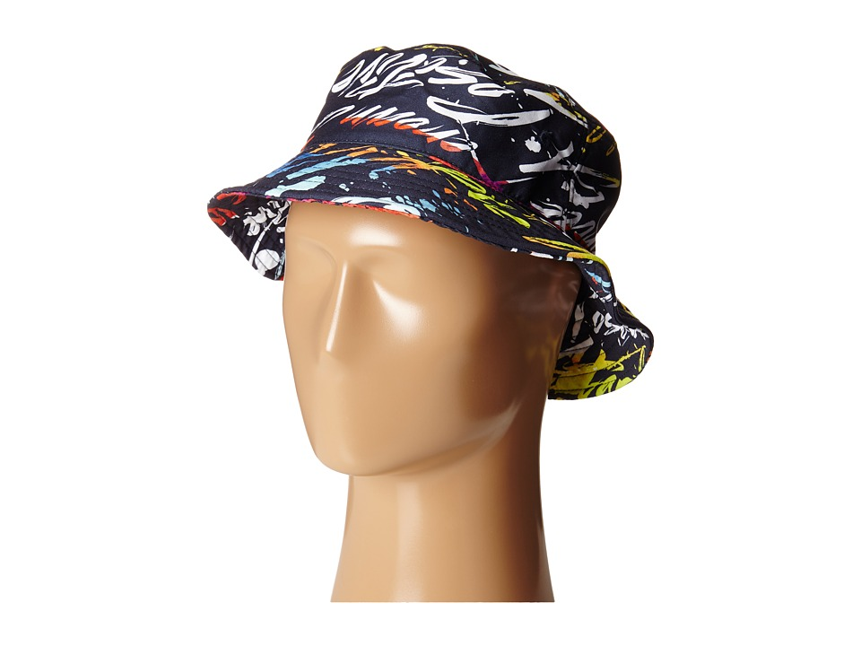 Staple - Positive Bucket Hat (Navy) Bucket Caps