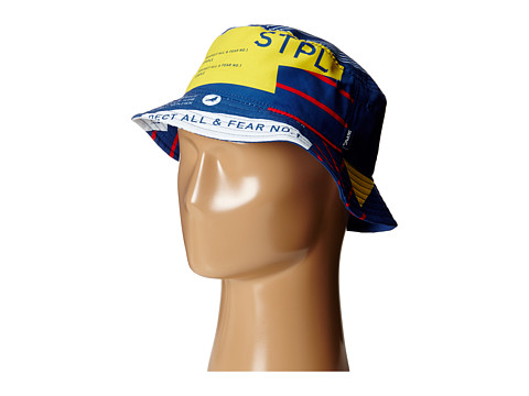 Staple - Surrender Bucket Hat (Navy) Bucket Caps