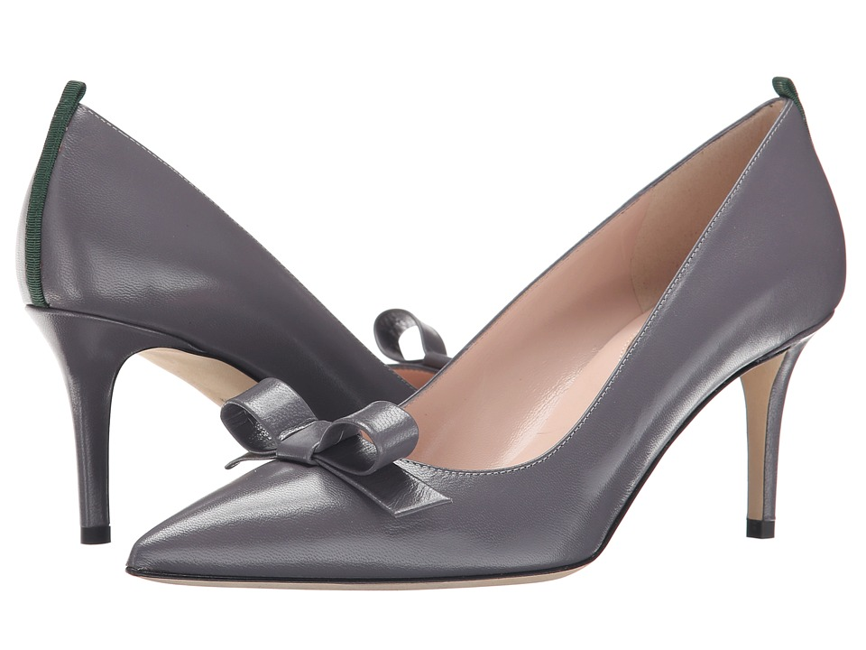 SJP by Sarah Jessica Parker - Sister 70mm (Smoke Leather) Women's Shoes