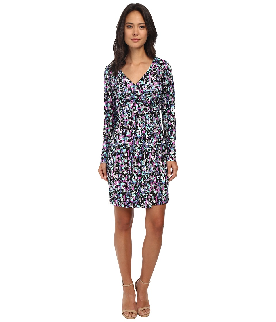 Susana Monaco Wrap Dress (Byzantine Combo) Women