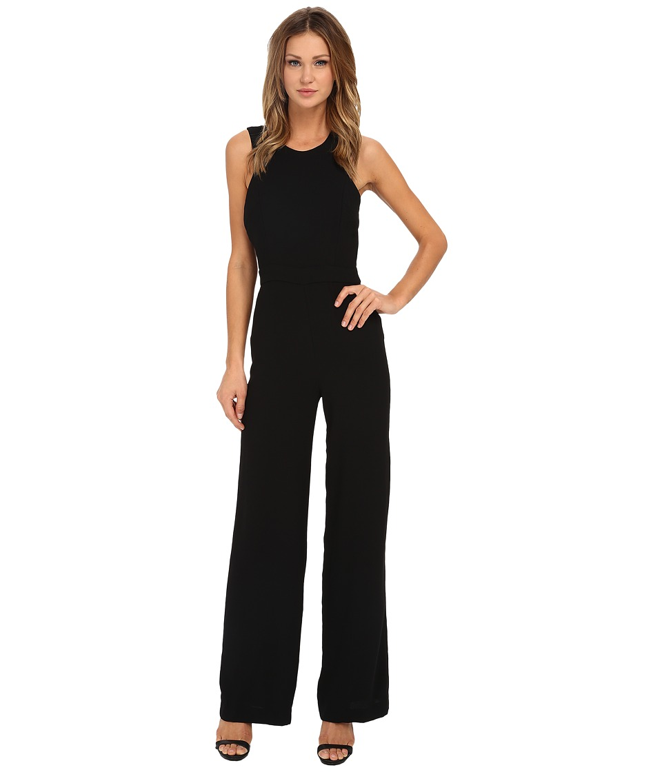 Sam Edelman - Angelina Halter Jumpsuit (Black) Women's Jumpsuit & Rompers One Piece