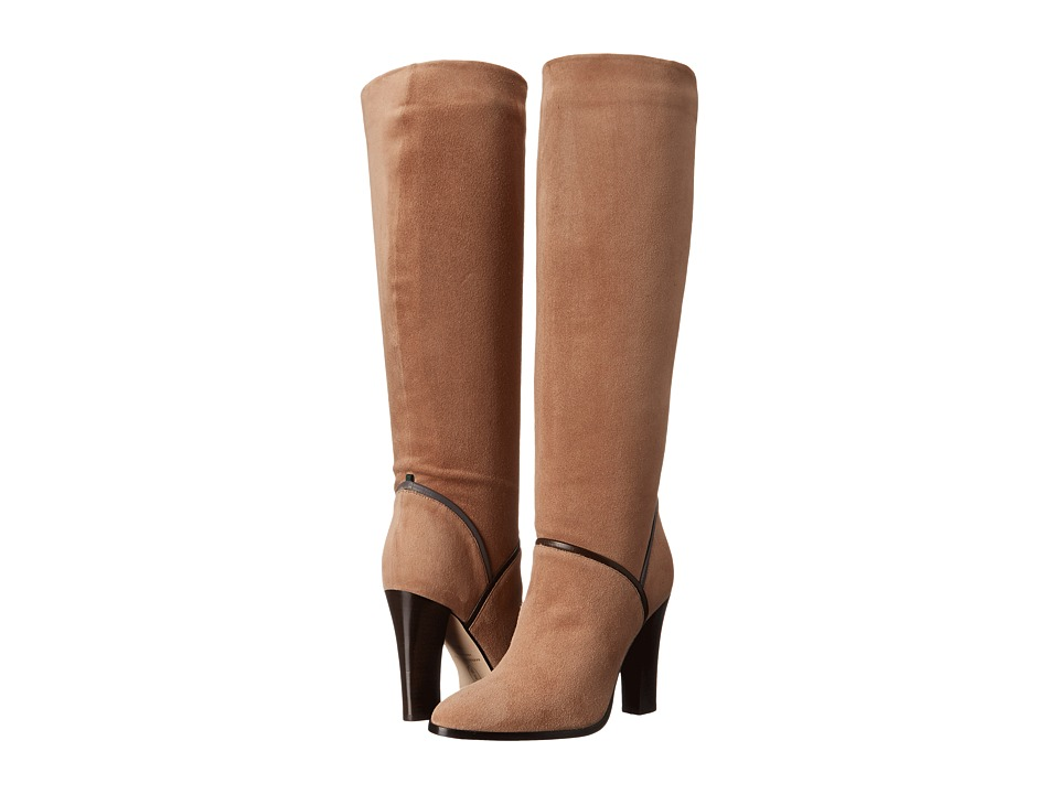 SJP by Sarah Jessica Parker - Jacklyn (Sand Suede) Women's Pull-on Boots
