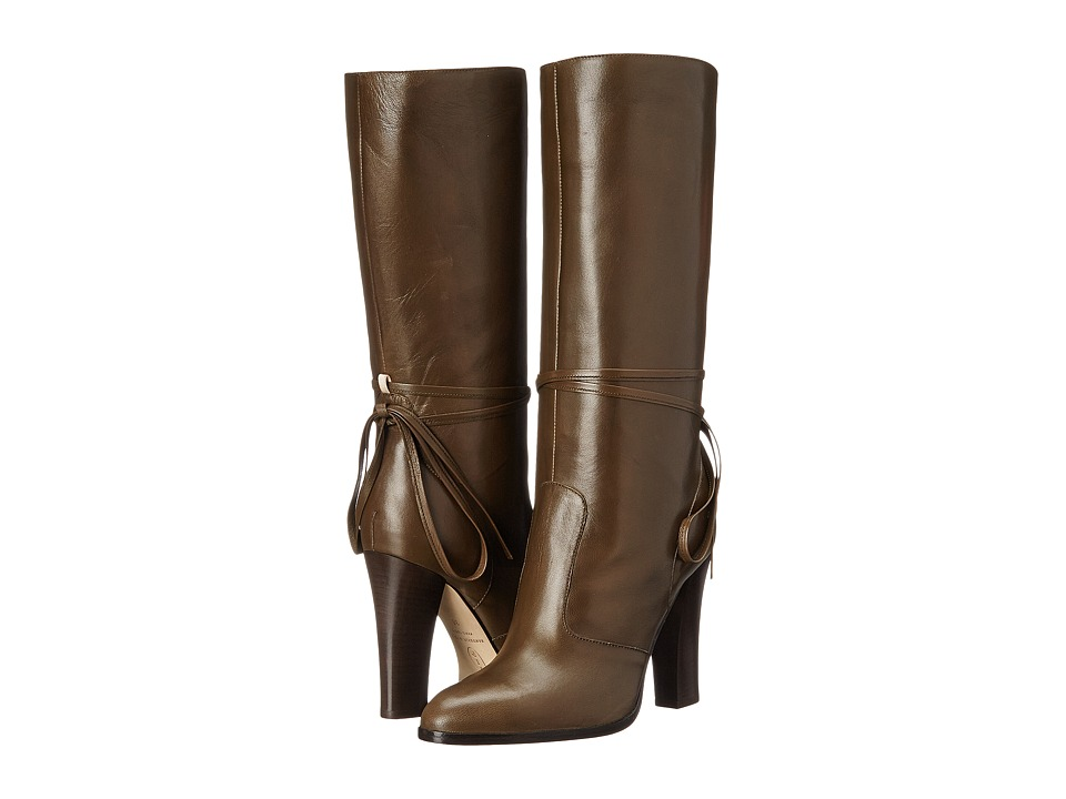 SJP by Sarah Jessica Parker - Jade (Loden Leather) Women's Boots