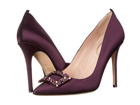 SJP by Sarah Jessica Parker - Mary (Raisin Satin) Women's Shoes