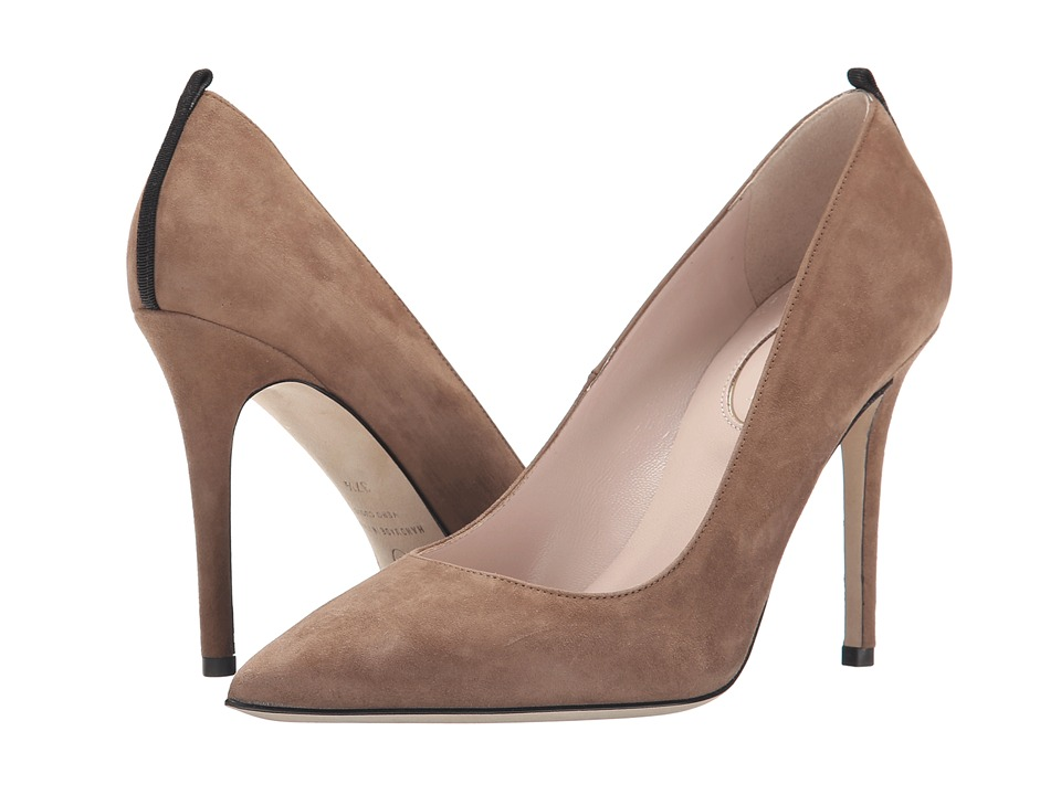 SJP by Sarah Jessica Parker - Fawn 100mm (Visone Suede) Women's Shoes