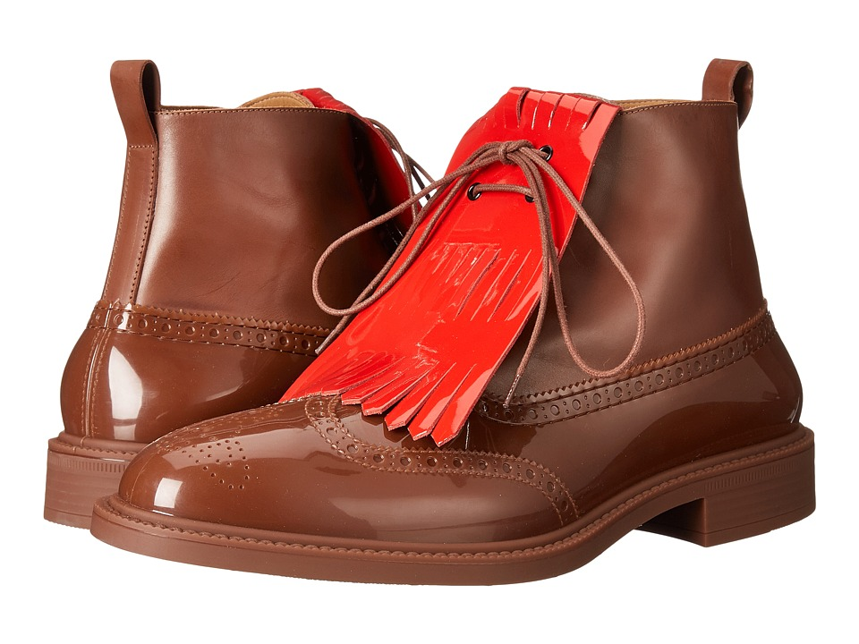 Vivienne Westwood Boot Brogue (Nut Brown) Men