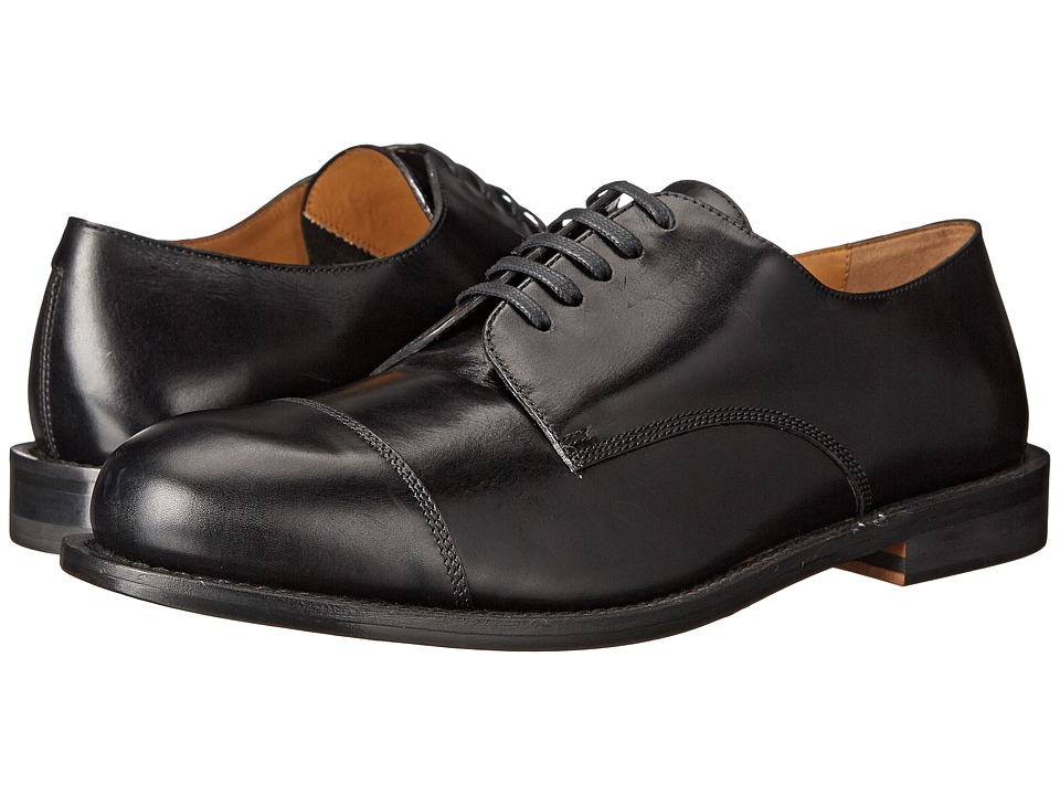 Vivienne Westwood Derby w/ Toe Cap (Black) Men