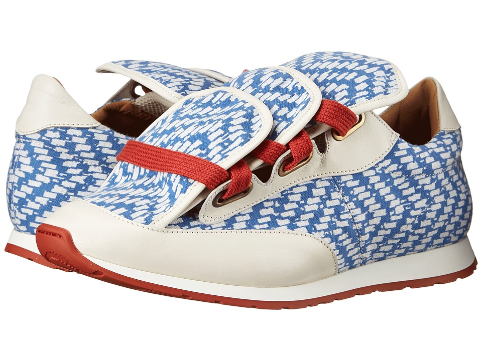 Vivienne Westwood Three Tongue Low Runner (Tartan Print) Men
