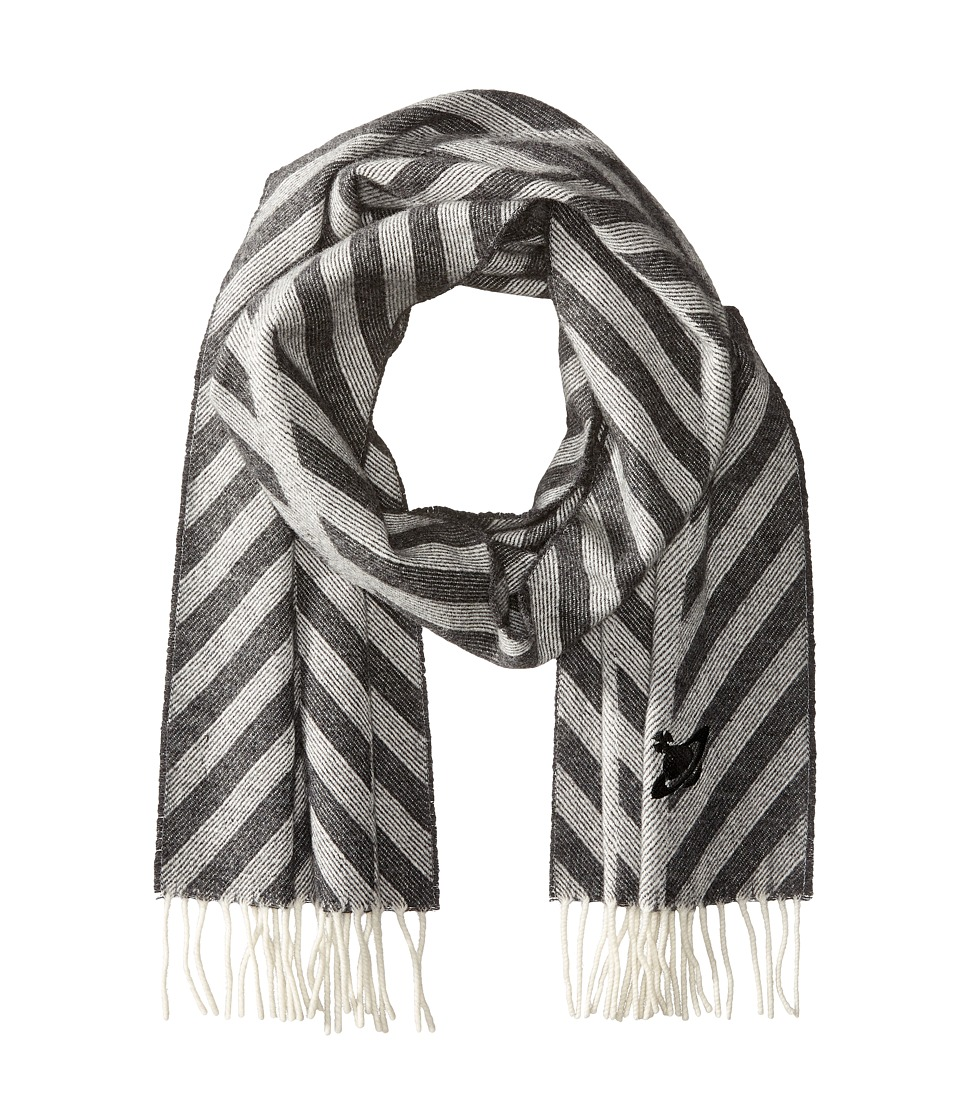 Vivienne Westwood - Scarf 30 x 195 (Anthracite) Scarves