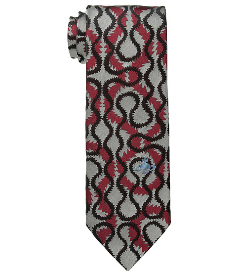 Vivienne Westwood - Squiggle Print Tie (Red) Ties