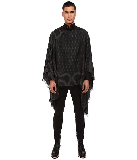Vivienne Westwood - Poncho 156 x 176 (Grey) Men's Sweater
