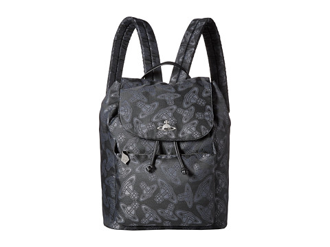Vivienne Westwood - Dancing Orbs Backpack (Black) Backpack Bags