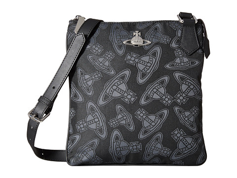 Vivienne Westwood - Dancing Orbs Small Bag (Black) Messenger Bags