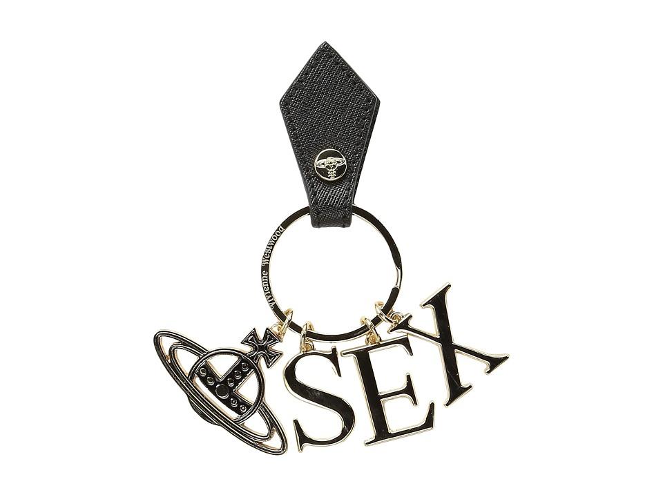 Vivienne Westwood - Sex Keyring (Black) Wallet
