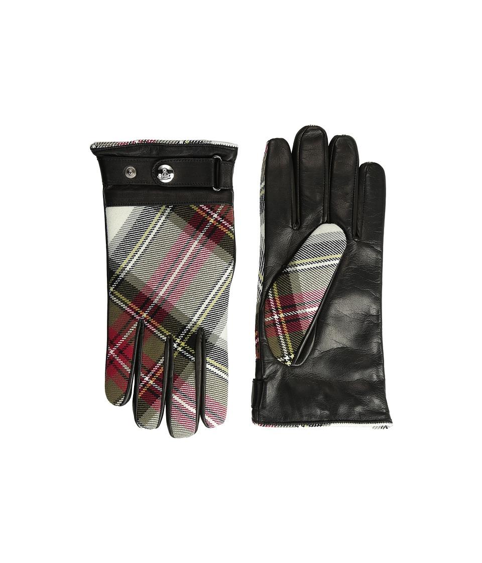 Vivienne Westwood - Tartan Glove (Exhibition/Nero) Extreme Cold Weather Gloves