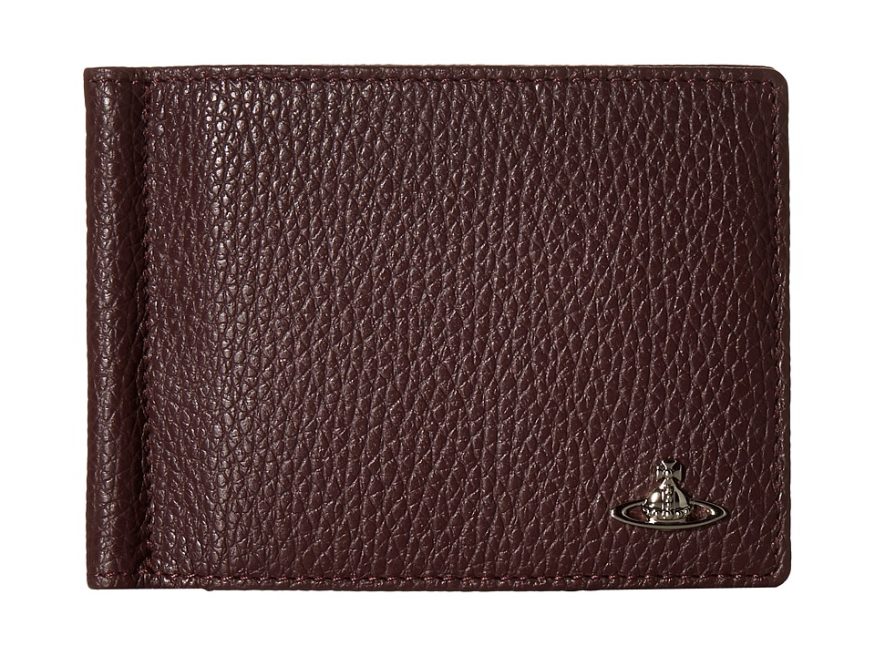 Vivienne Westwood - Leather Money Clip (Bordeaux) Wallet