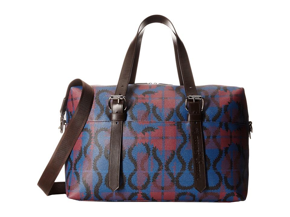Vivienne Westwood - Squiggle Weekender Bag (Black) Weekender/Overnight Luggage