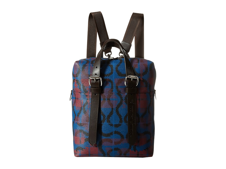 Vivienne Westwood - Squiggle Backpack (Bordeaux) Backpack Bags