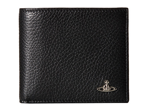 Vivienne Westwood - Leather Credit Card Holder (Black) Credit card Wallet