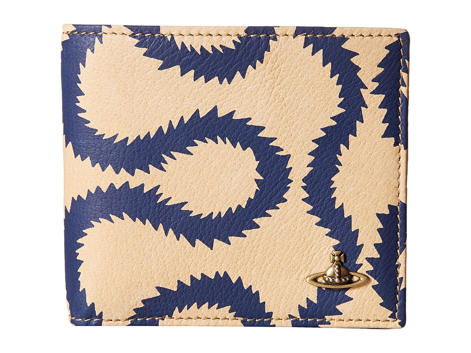 Vivienne Westwood - Squiggle Credit Card Holder (Blue Squiggle) Credit card Wallet