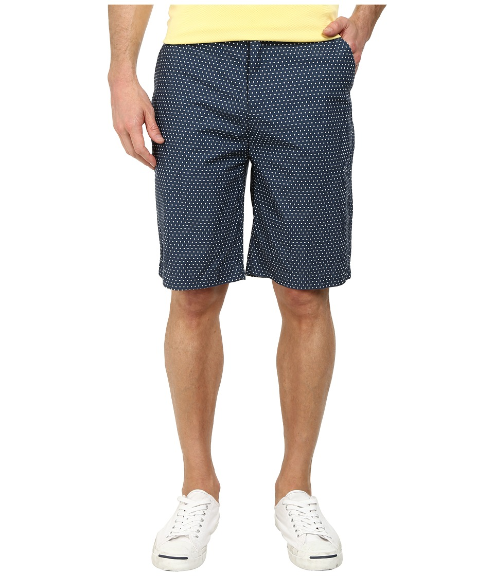 J.A.C.H.S. - Printed Bermuda Short (Navy 1) Men's Shorts