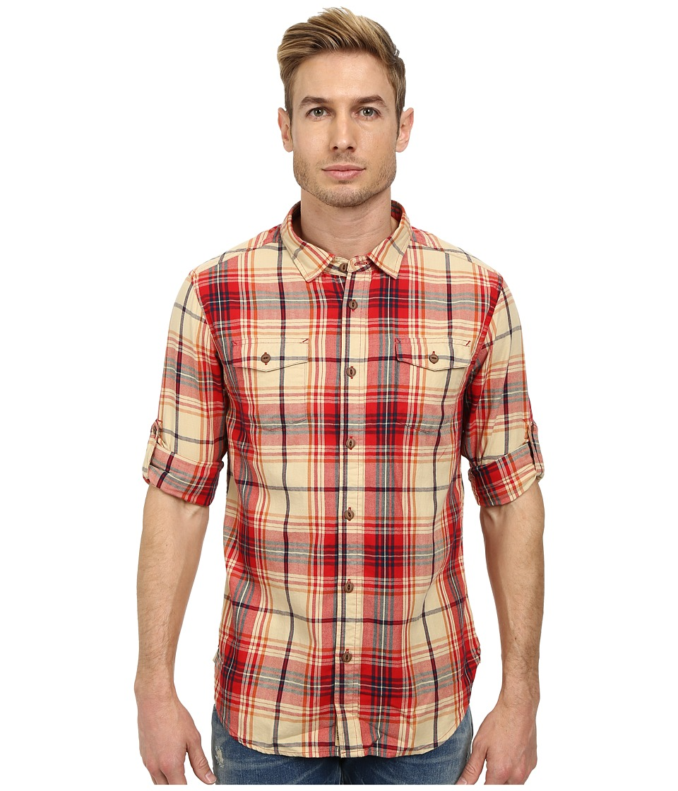 J.A.C.H.S. - Two-Pocket Shirt (Red) Men's Clothing
