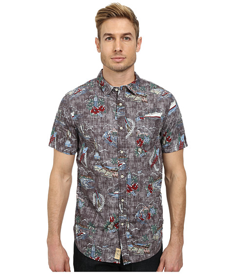 J.A.C.H.S. - Tropical Shirt (Black) Men's Clothing