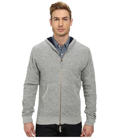 J.A.C.H.S. - Dual Fold Zip-Up Hoodie (Heather) Men's Sweatshirt