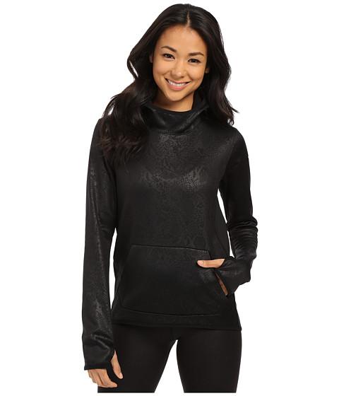Nike - All Time Tech Embossed Hyperwarm Vixen Hoodie (Black/Black/Black) Women
