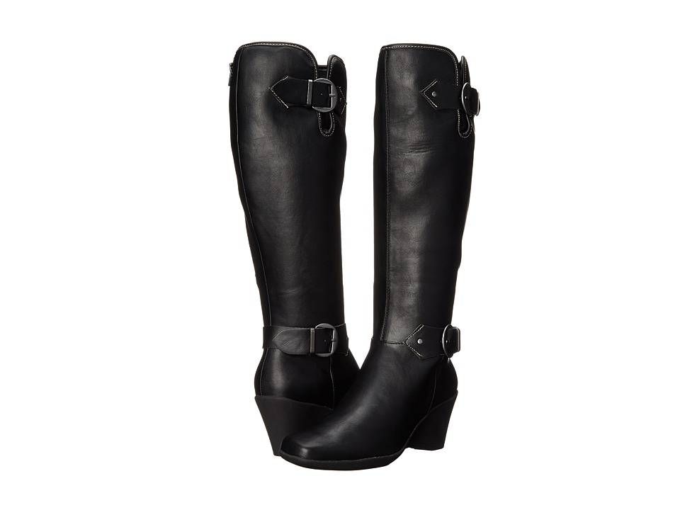 Aerosoles - Wonderful (Black) Women's Zip Boots