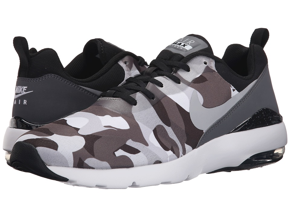 Nike - Air Max Siren Print (Black/Dark Grey/Pure Platinum/White) Men's Shoes
