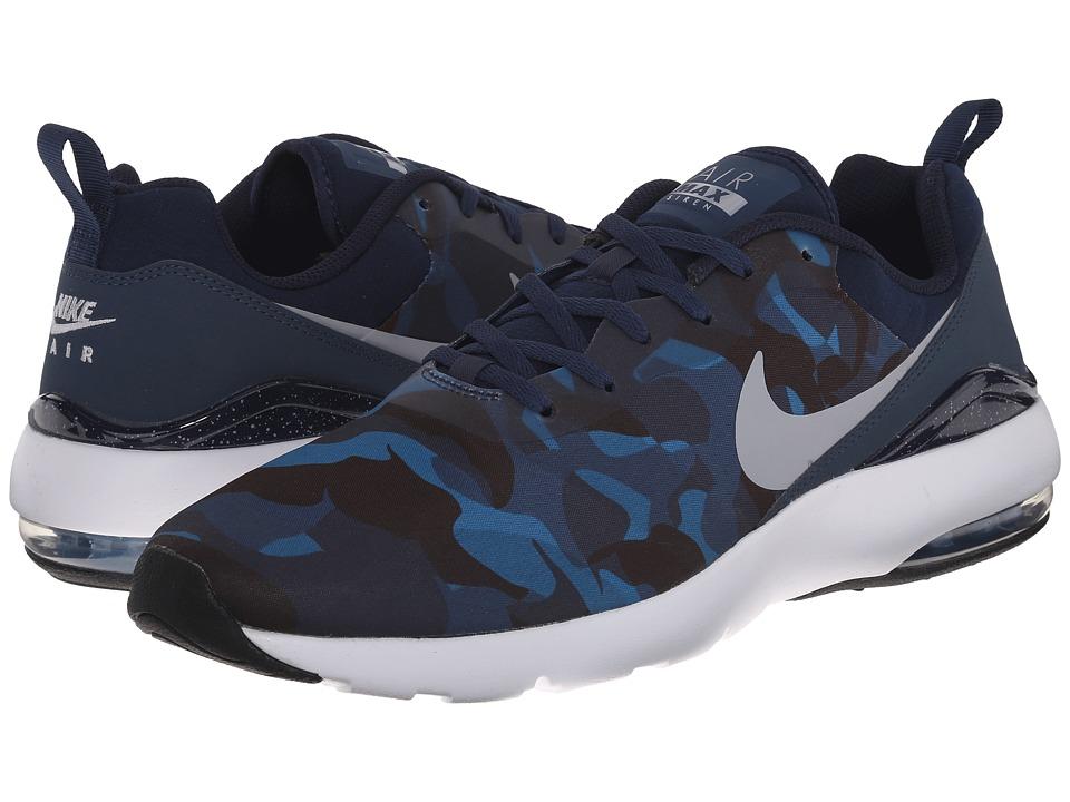 Nike - Air Max Siren Print (Squadron Blue/Obsidian/Brigade Blue/Wolf Grey) Men