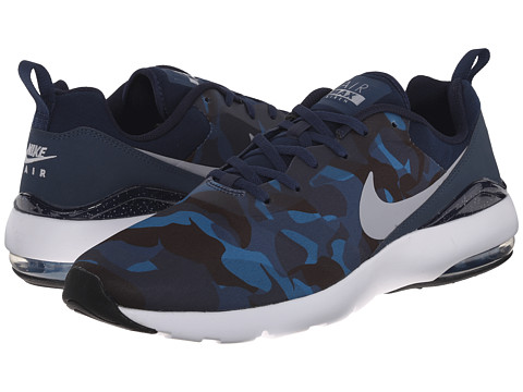 Nike - Air Max Siren Print (Squadron Blue/Obsidian/Brigade Blue/Wolf Grey) Men's Shoes