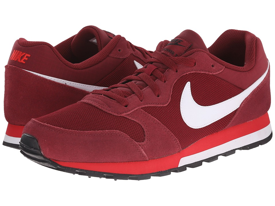 Nike - MD Runner 2 (Team Red/University Red/White) Men's Classic Shoes