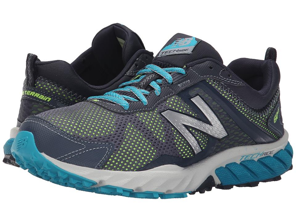 New Balance - T610v5 (Thunder/Sea Glass) Women's Running Shoes