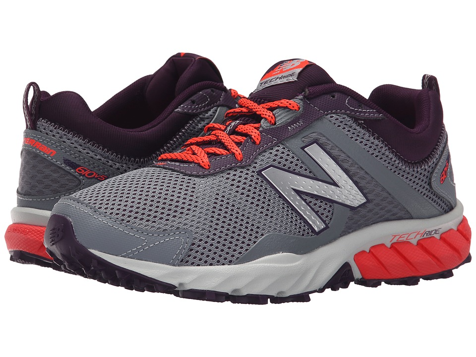 New Balance - T610v5 (Gunmetal/Flame) Women's Running Shoes
