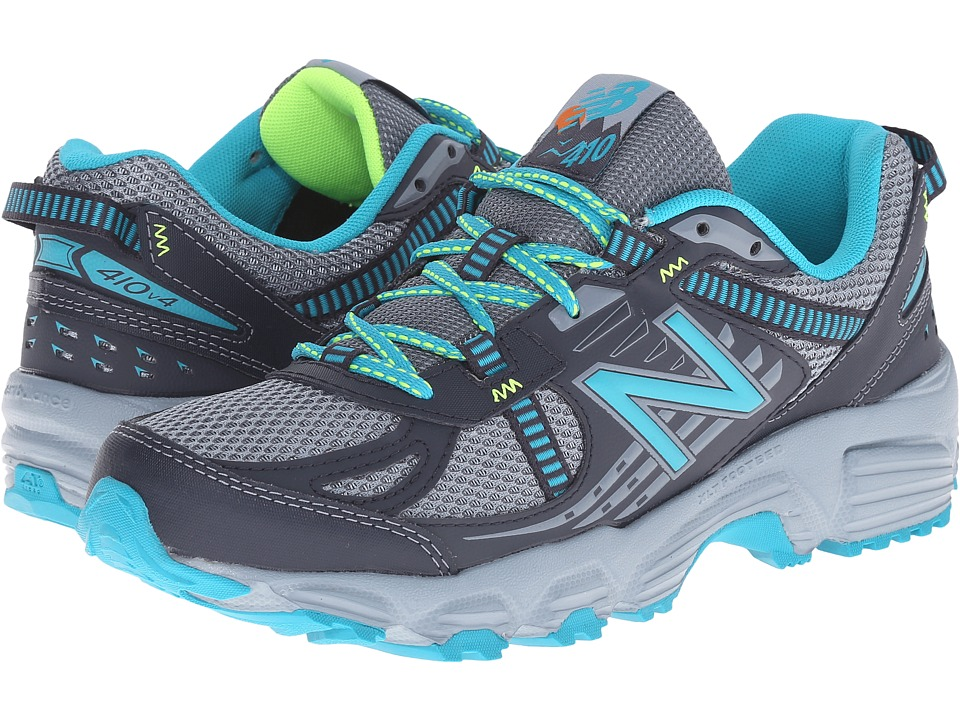 Womens Shoes New Balance T410v4 Grey/Sea Glass