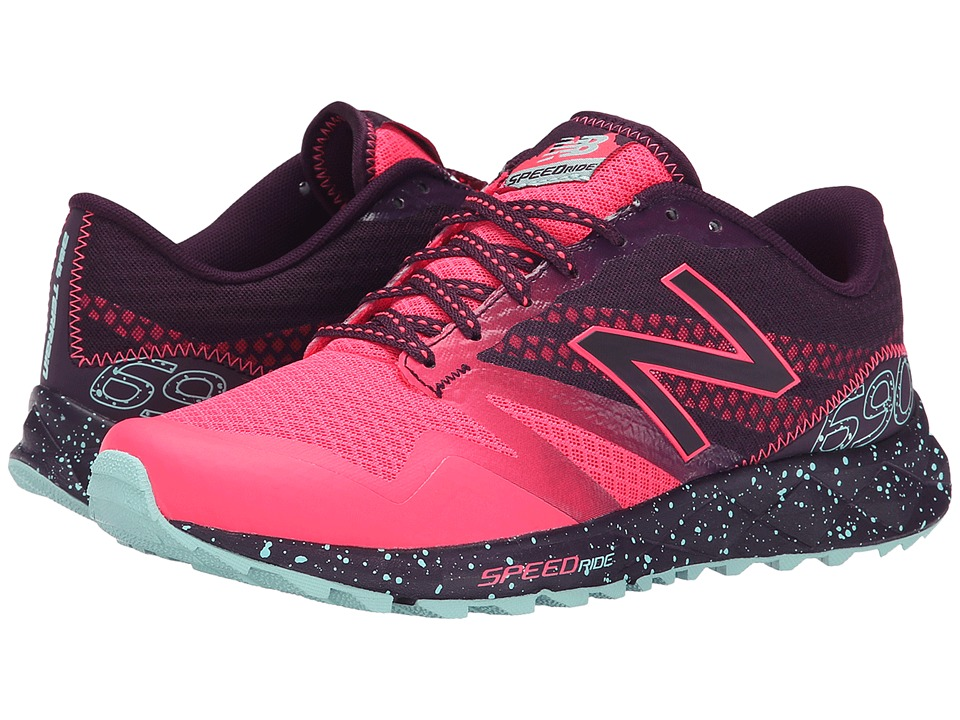 New Balance - T690v2 (Pink Zing/Asteroid) Women's Running Shoes