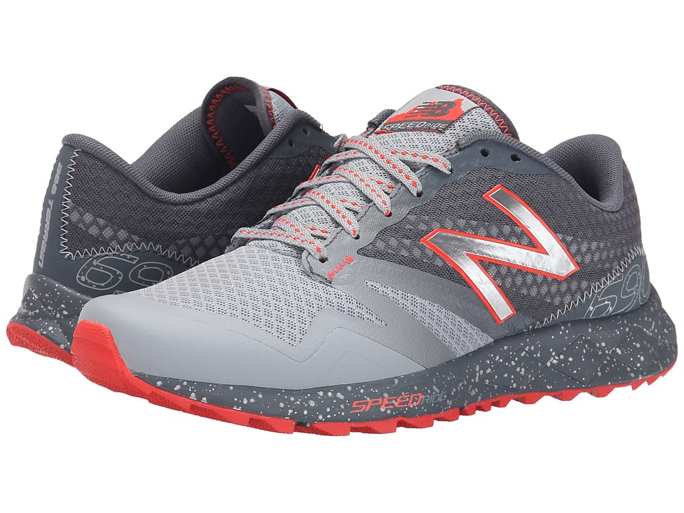 New Balance - T690v2 (Grey/Flame) Women's Running Shoes