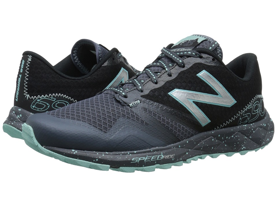 New Balance - T690v2 (Thunder/Arctic Blue) Women's Running Shoes