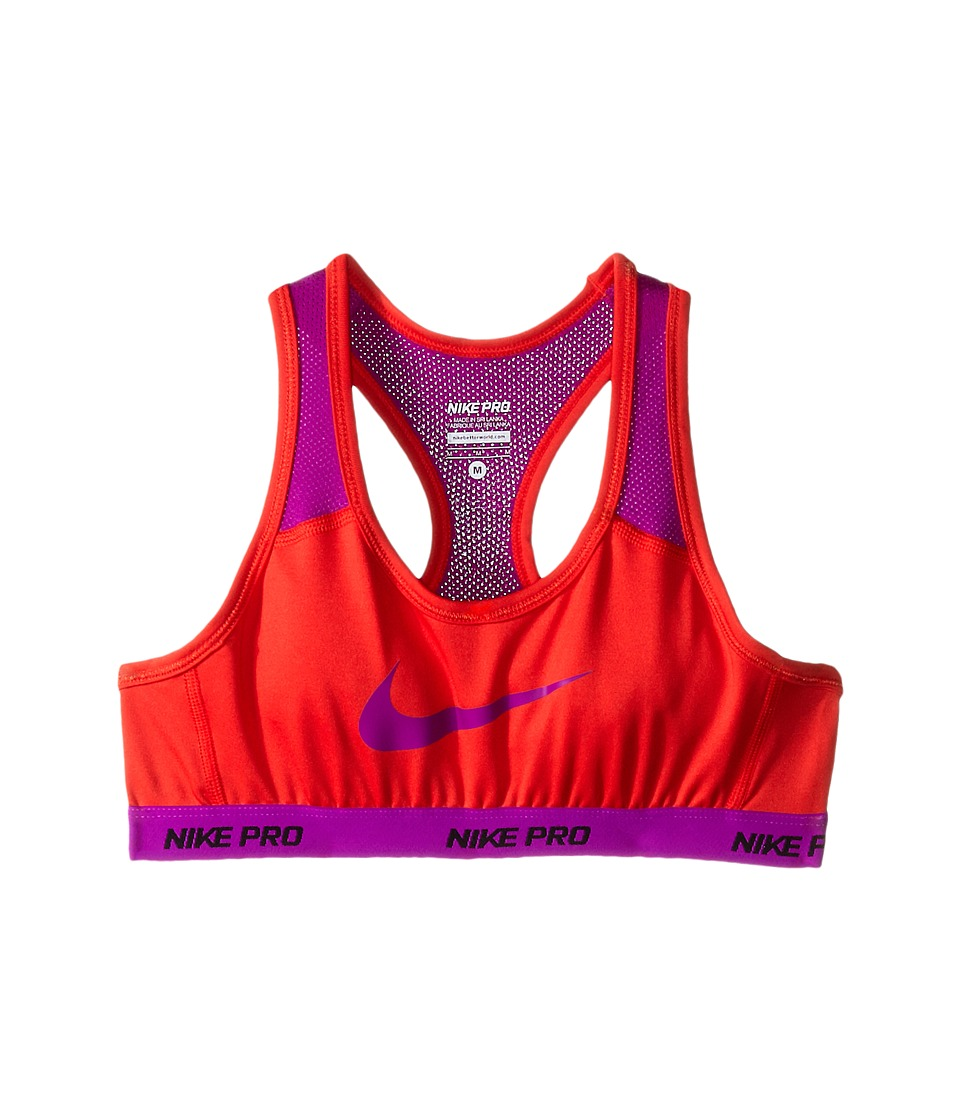 Nike Kids - Pro Hypercool Sports Bra (Little Kids/Big Kids) (Light Crimson/Vivid Purple/Vivid Purple) Girl's Bra