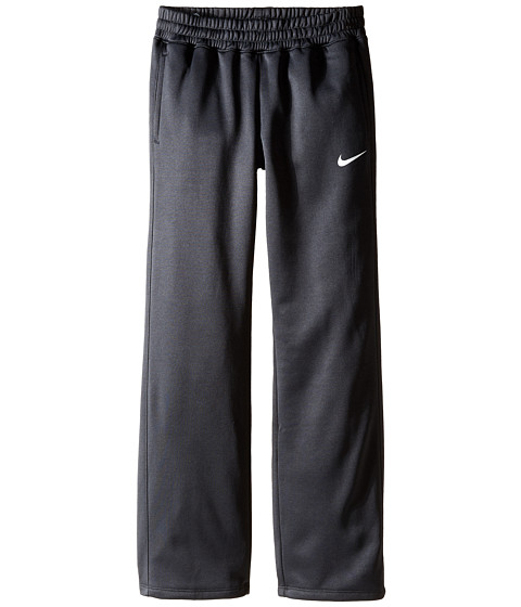Nike Kids - KO 3.0 Fleece Pants (Little Kids/Big Kids) (Anthracite/Anthracite/White/White) Girl's Workout