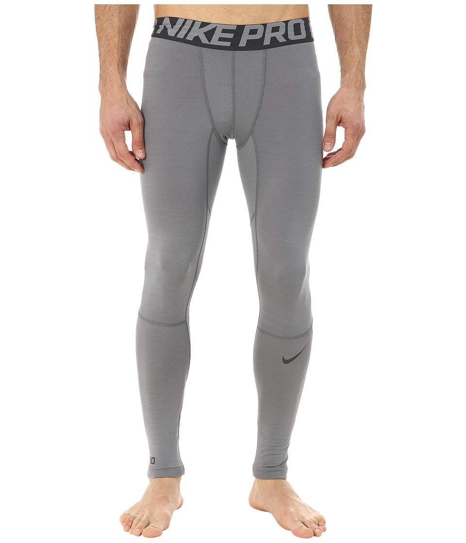 Nike - Pro Hyperwarm Compression Training Tight (Cool Grey/Anthracite/Anthracite) Men's Workout