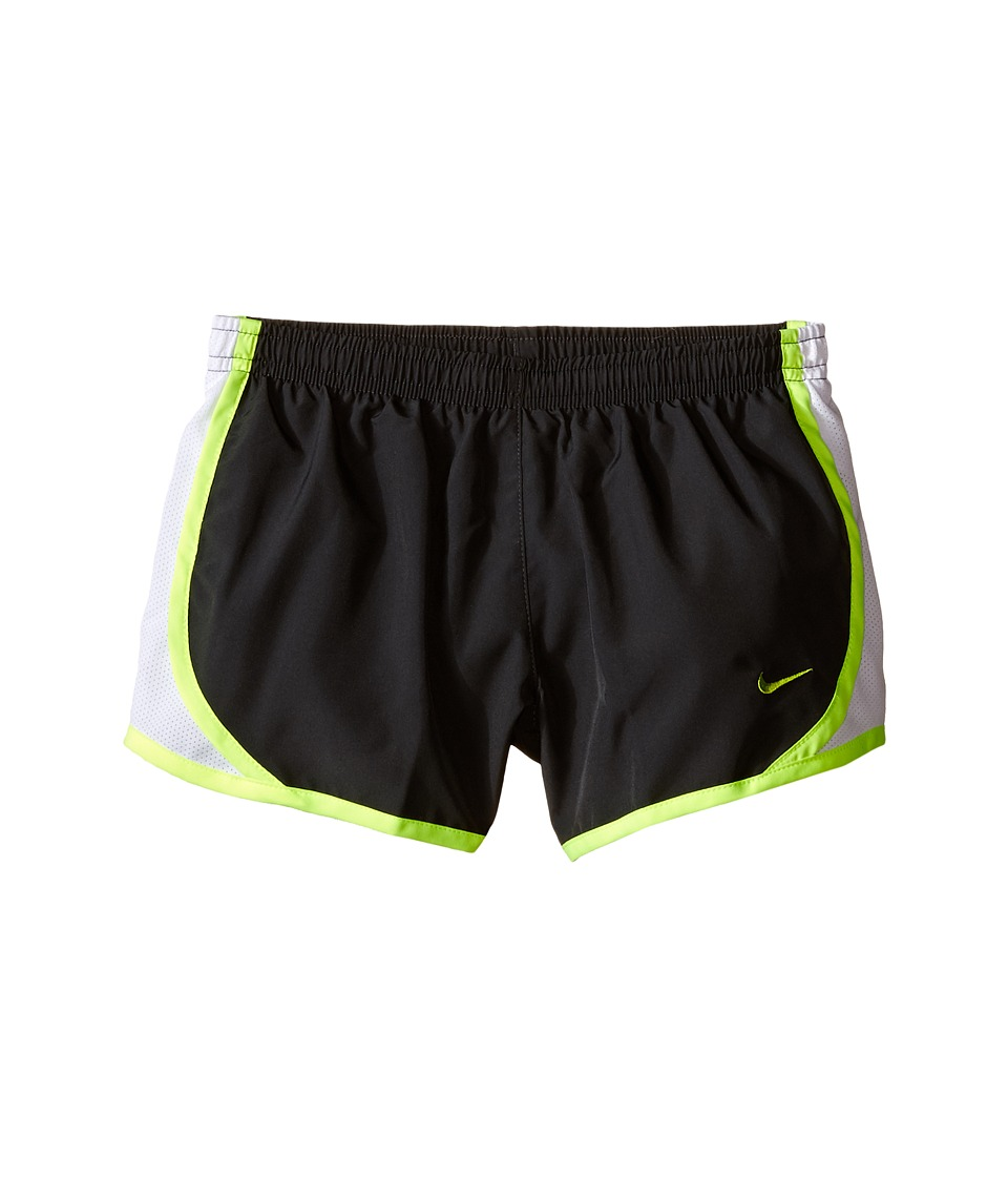 Nike Kids - Tempo Short (Little Kids/Big Kids) (Anthracite/White/Volt/Volt) Girl's Shorts