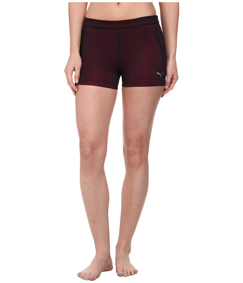PUMA - ACTV Power Fitness and Training Tight (Black/Shade/Beetroot) Women's Workout